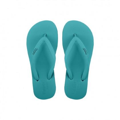 Original Fipper Slipper Basic S Rubber for Women(Turquoise)